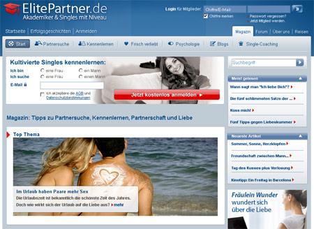 Elitepartner Magazin