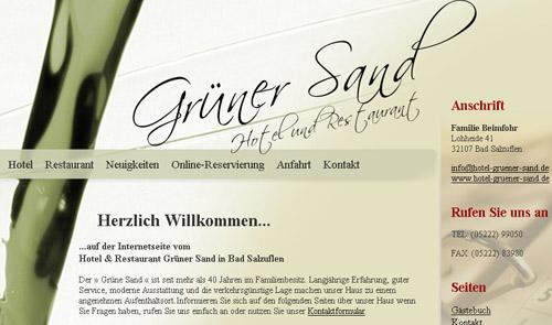 Hotel Gr�ner Sand
