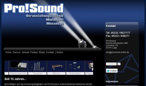 Pro!Sound